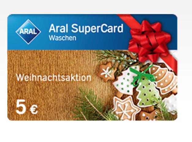 买10欧元Aral加油卡,送5欧元洗车卷一张