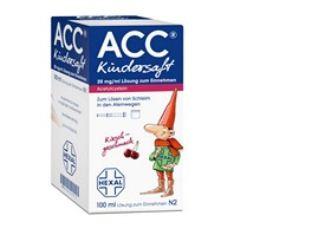 德国HEXAL ACC儿童止咳糖浆100ml仅需2.56欧