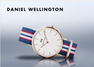 daniel wellington丹尼尔惠灵顿腕表全场64.95欧起