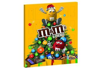 美国m&m's Friends的圣诞日历来啦