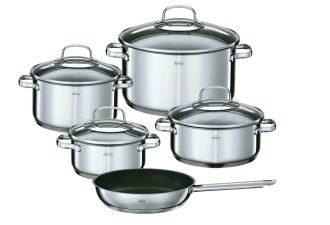 原价299欧的德国顶级厨具专家Rösle宜施乐五件套锅仅需149欧