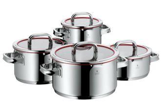 原价449欧的wmf符腾堡顶级带盖汤锅四件套降至203.92欧