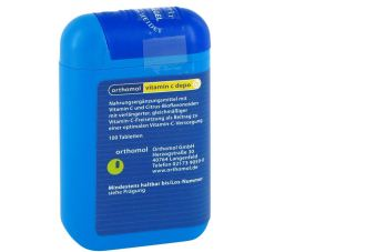 德国Orthomol Vitamin C depo奥适宝维生素C片100片装仅需7.18欧