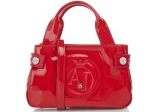 Armani Jeans阿玛尼女士时尚手拎包降至79欧,多色可选