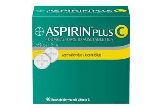 德国拜耳ASPIRIN阿司匹林维C泡腾片超大包装仅需10,29欧