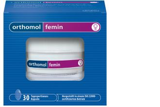 orthmol奥适宝femin中老年女性滋养异黄酮胶囊仅需25.99欧