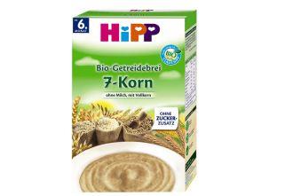 德国喜宝hipp有机七种谷物营养有机米粉六盒装仅需32.76欧