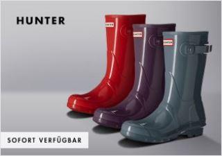 雨季必备英国Hunter雨靴,全场40欧起