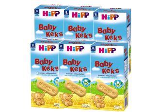 德国hipp喜宝全谷物幼儿小饼干六盒装仅需19.9欧