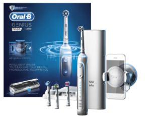 博朗Oral-B Genius 9000旗舰款智能电动牙刷直降158.16欧