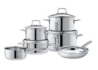 WMF汤锅煎锅六件套Astoria特惠价183.99欧