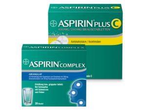 拜耳制药畅销套装:阿司匹林ASPIRIN维C泡腾片加Complex装直减12.49欧