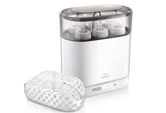 philips avent四合一多功能婴儿奶瓶蒸汽消毒器降至69.99欧