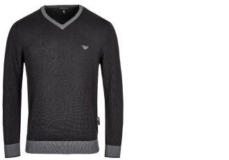 原价160欧的Emporio Armani的男士纯棉针织衫降至49欧