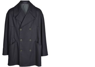 Emporio Armani阿玛尼高定男装双排扣外套降至249欧