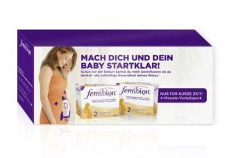 孕妇必备:Femibion叶酸2段240粒超值装仅需80.89欧