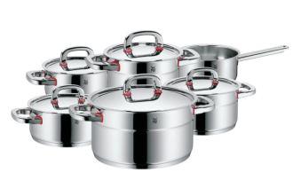 WMF符腾堡纯德国制造顶级锅具六件套Premium One直降150欧