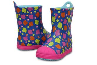 德国正品Crocs女童中帮卡通雨靴仅需44,99欧