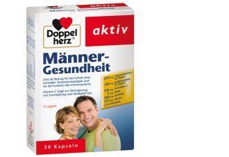 doppelherz双心牌男性综合营养健康素仅需5.45欧