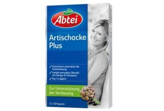 德国Abtei artischocke朝鲜蓟护肝消脂胶囊30粒装仅需4.75欧
