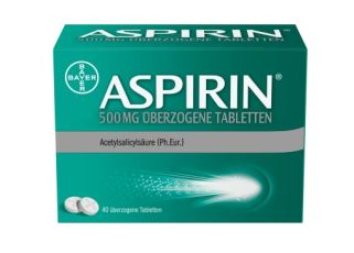 德国拜耳ASPIRIN阿司匹林500mg 40粒装仅需7.68欧