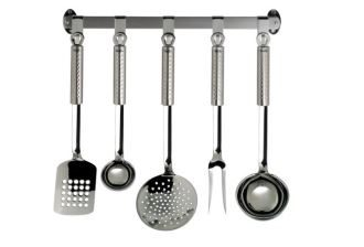 菲仕乐fissler顶级厨具五件套附赠不锈钢挂具仅需130欧