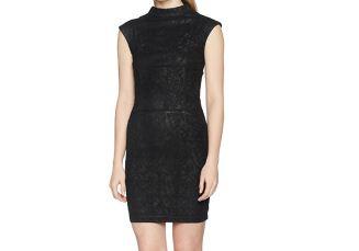 美国超牌GUESS女士精致黑色蕾丝裙Becky降至69.99欧