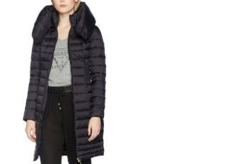原价333欧的GUESS女士长款羽绒外套降至149欧