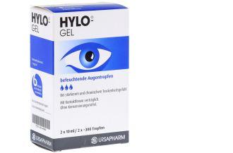 德国海露HYLO-GEL全新升级版滴眼液两瓶装低至18.98欧