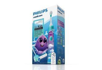 philips飞利浦连接趣味APP儿童声波智能sonicare电动牙刷仅需38欧