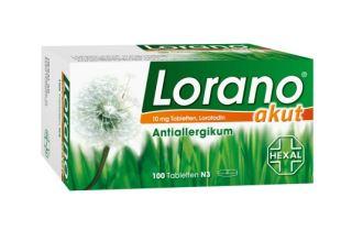 春季花粉过敏必备Lorano脱敏片100片仅需15.68欧