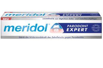 德国原装Meridol牙膏专治牙周炎Parodont-expert升级版仅售4.24欧
