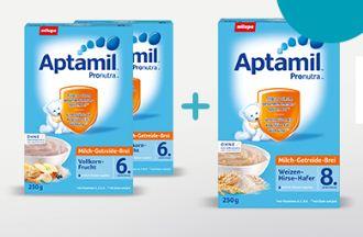 德国Aptamil爱他美牛奶谷物燕麦米粉米糊250g买二赠一,低至2.29欧