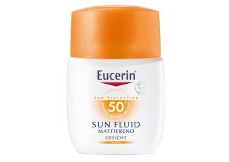 优色林Eucerin全新Sun Fluid敏感肌可用的三重保护防晒乳低至14.52欧