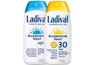 原价36.9欧的德国超人气防晒套装Ladival降至23,29欧