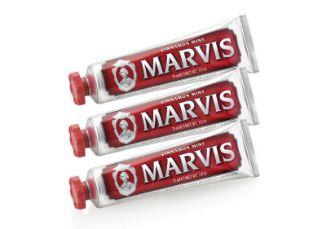 """牙膏中的""""爱马仕""""MARVIS三支正装套装低至13.53磅"""