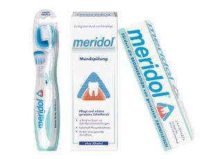 德国Meridol全新口腔护理套装低至9.95欧,附赠适合敏感性牙龈的软毛牙刷