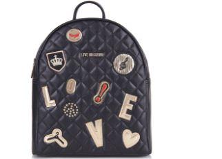Love Moschino最新2017潮流新款双肩包七六折
