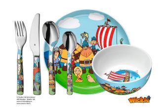 顶尖厨具餐具德国福腾堡WMF儿童餐具六件套低至33.49欧,三岁起可用