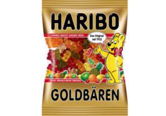 haribo德国混合水果味橡皮糖小熊糖限时0.69欧