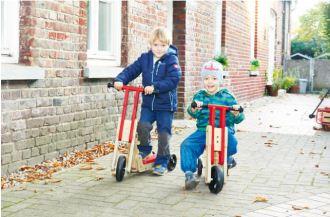 """德产幼儿直立坐立两用滑板车pinolino """"Theo""""直降30欧"""