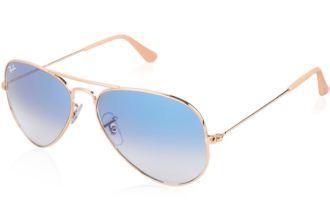 夏季造型必备:Ray-ban经典湖水蓝太阳镜低至119欧