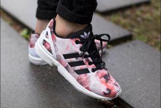 阿迪达斯Adidas Originals轻便透气女士印花跑鞋直降52欧