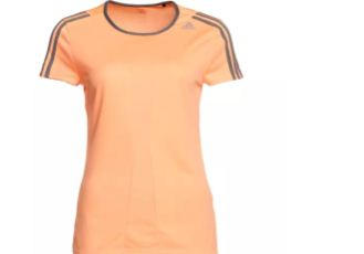 Adidas阿迪达斯吸湿排汗跑步专用女士T恤低至14.89欧