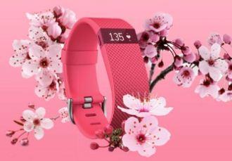 原价150欧的全新粉红配色Fitbit ChargeHR智能手环降至69欧