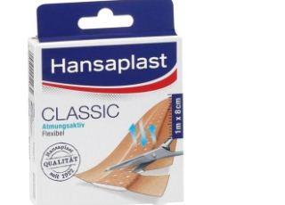 hansaplast拜尔斯道夫抗敏消炎自由剪创可贴1M X 8CM低至3.69欧