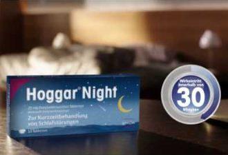 德国Hoggar Night短期助眠安神片20粒装低至5.99欧