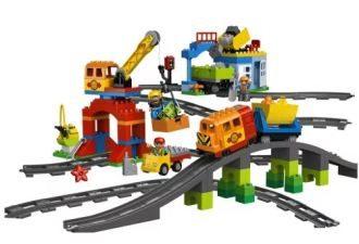乐高 (Lego) DUPLO得宝城镇系列豪华火车套装低至89,99欧