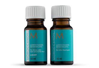 MOROCCANOIL摩洛哥滋养发部精华油九折,附赠两瓶中样发油