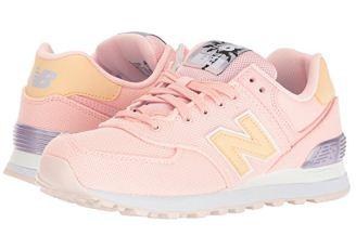"""新百伦New Balance""""慢跑鞋之王""""WL574系清新糖果粉降至49.9欧"""